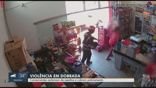 Moradores de Dobrada pedem reforço em policiamento após alta de 52,6% nos furtos em 8 meses