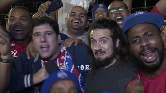 Cartolouco acompanha partida entre Vasco e Bahia pela Copa do Brasil
