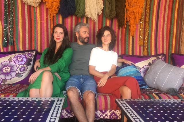 Camila Rodrigues, Angelo Paes Leme e Branca Messina (Foto: Arquivo pessoal)