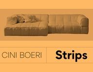 Conheça a história do sofá Strips, desenhado em 1968 por Cini Boeri