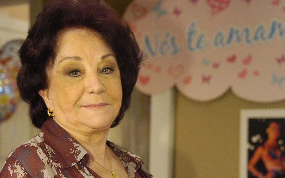 Lolita Rodrigues em foto de 2009, de divulgação da novela 'Amor à vida', em que atuou como Noêmia — Foto: Marcio de Souza / TV Globo
