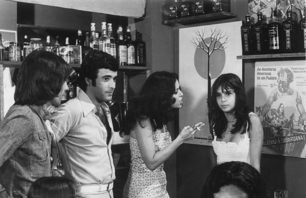 Tony Ramos em cena da novela 'Espelho mágico', de 1977 (Foto: Arquivo)