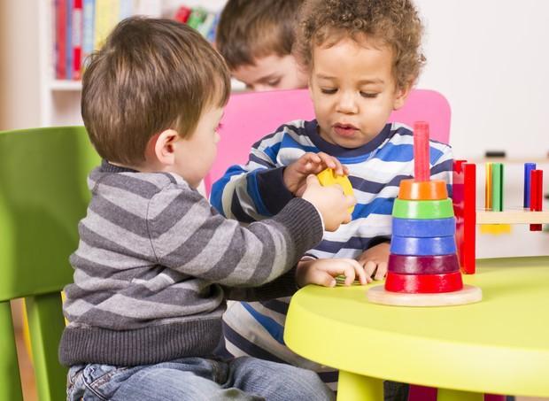 crianças na escola; berçário; creche (Foto: Thinkstock)