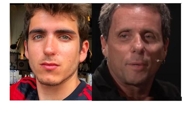 João Mader Bellotto, filho de Malu Mader e Tony Bellotto, estará na série 'Dom', da Amazon, inspirada no livro do músico sobre o criminoso Pedro Dom (Foto: Reprodução)
