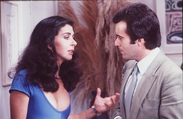 Tony Ramos participou da novela 'Baila comigo' com Betty Faria (Foto: Adir Mera)
