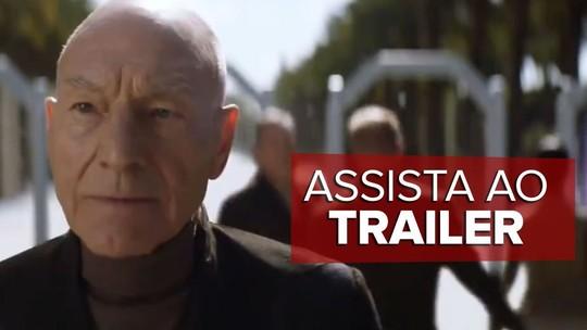 Assista: 'Star Trek: Picard', com Patrick Stewart, ganha 1º trailer