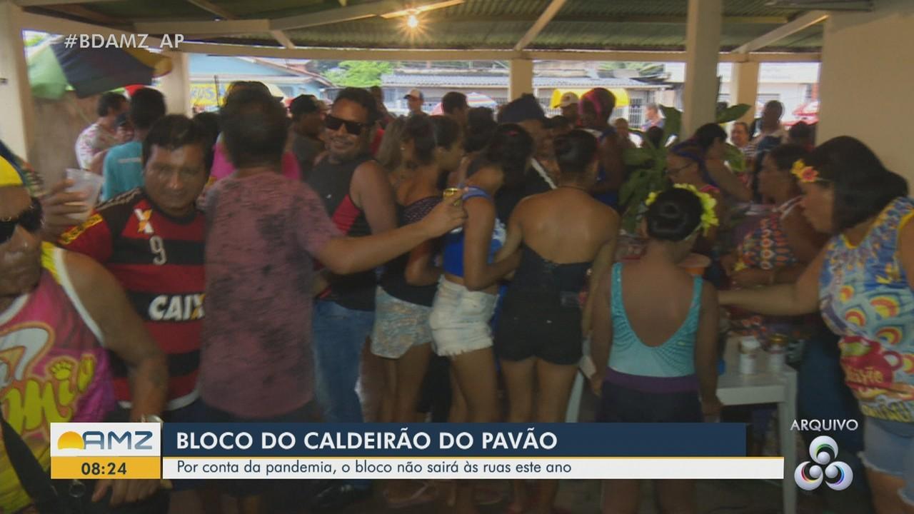 Bloco do Caldeirão do Pavão não sai às ruas em 2021 em função da pandemia da Covid-19