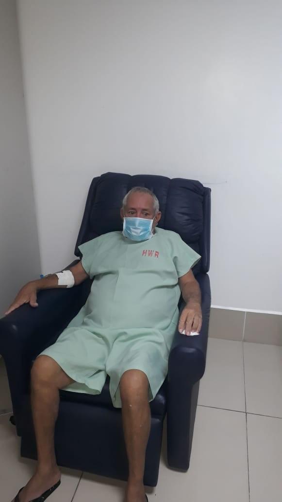 Idoso que precisa de transplante de pulmão pega coronavírus e se recupera após 7 dias internado; 'Ele estava confiante', diz filho