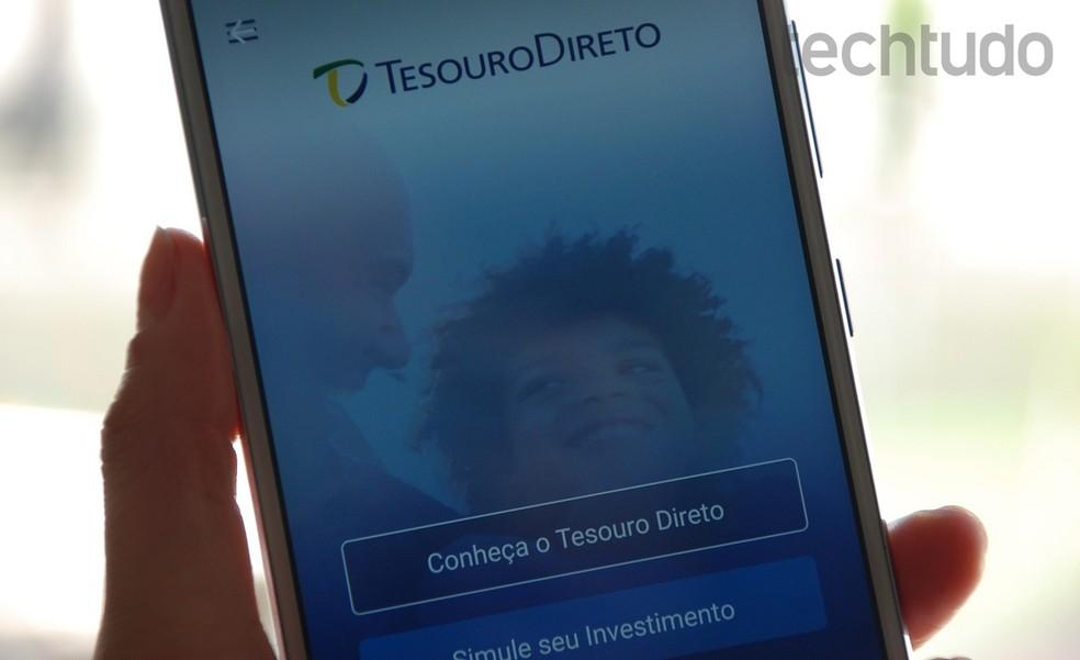 Saiba como investir no Tesouro Direto pelo celular com app do Tesouro Nacional — Foto: Raquel Freire/TechTudo