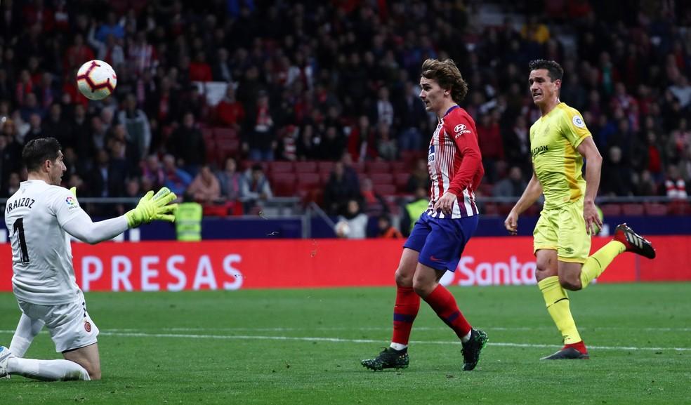 Griezmann já teria se despedido de companheiros de equipe no Atlético de Madrid  — Foto: Reuters