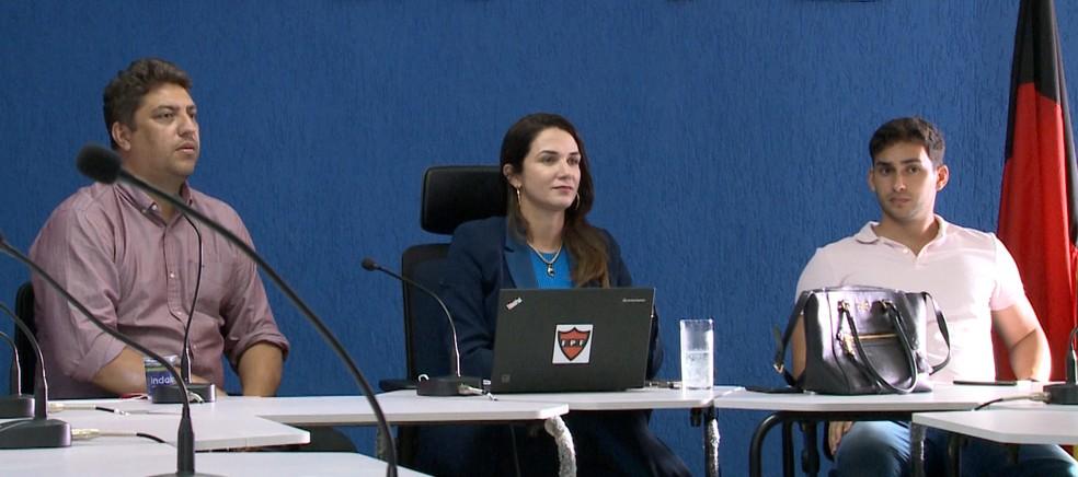 Cúpula da FPF bateu o martelo na noite dessa quinta-feira, confirmando as datas e os horários das finais do Paraibano 2020 — Foto: Reprodução / TV Cabo Branco