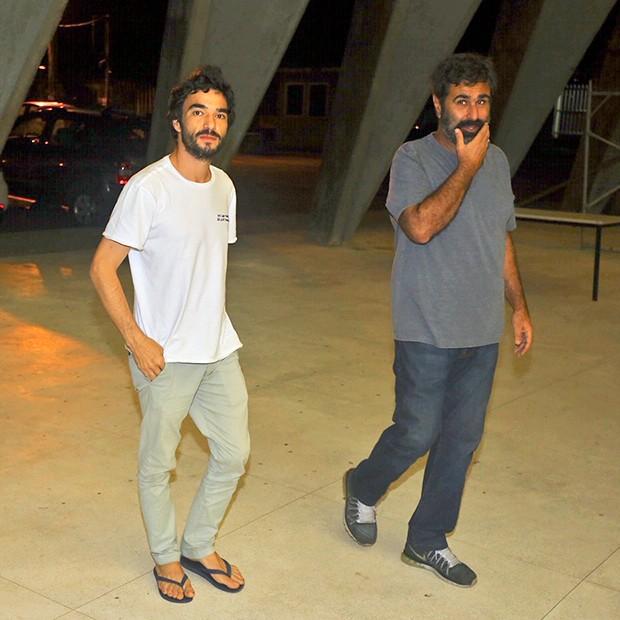 Caio Blat e Orã Figueiredo (Foto: AgNews)
