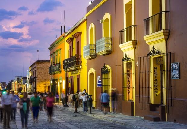Oaxaca, no México, foi nomeada a melhor cidade do mundo para visitar este ano e pode ser sua próxima casa (Foto: Gonzalo Azumendi via Getty Images)