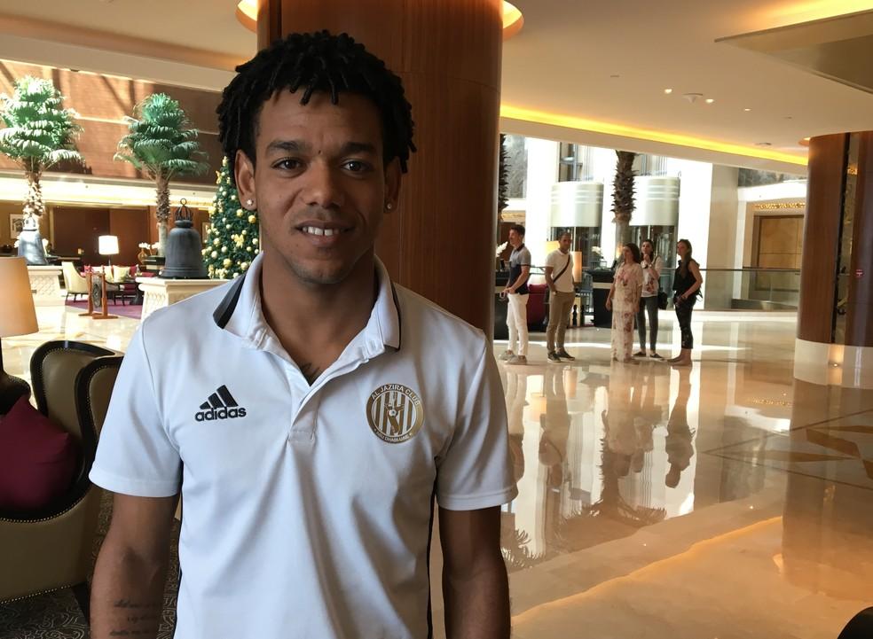 Missão impossível? Romarinho acredita no Al Jazira e espera deixar sua marca contra o Real (Foto: Ivan Raupp)