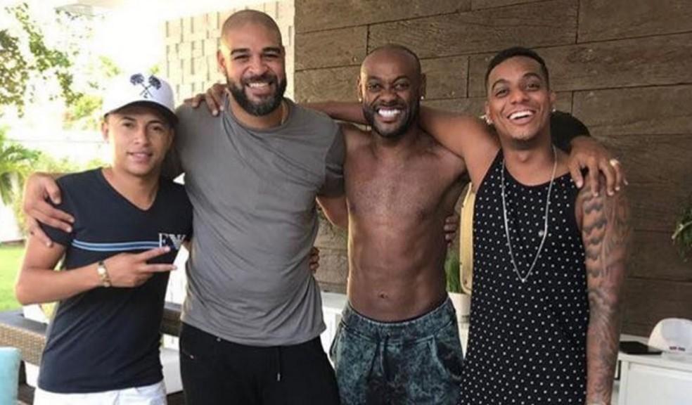 Ficou na foto: Fla não reeditará o Império do Amor em 2018 (Foto: Reprodução Instagram)