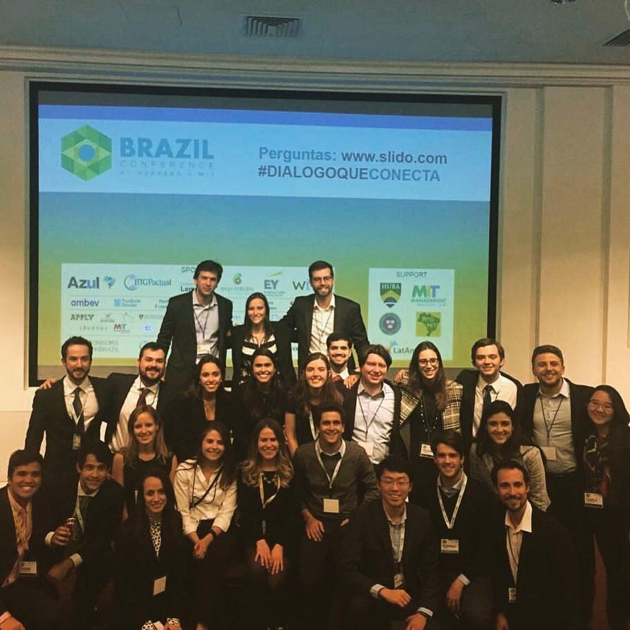 Participantes da Brazil Conference at Harvard & MIT de 2017 (Foto: Reprodução/ Facebook)