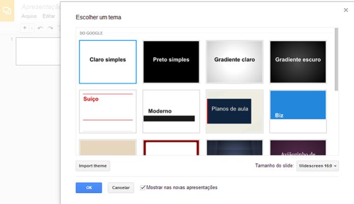 Google Drive oferece ferramenta de apresentações útil para quem quer colaborar, mas com limitações de edição (Foto: Reprodução) (Foto: Google Drive oferece ferramenta de apresentações útil para quem quer colaborar, mas com limitações de edição (Foto: Reprodução))