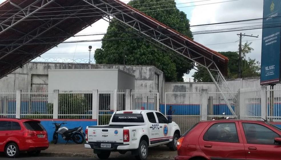 Centro Socioeducativo Dagmar Feitosa, em Manaus (Foto: José Carlos Amorim/Rede Amazônica)