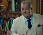 Luiz Fernando Guimarães é Amadeu em 'O tempo não para' | Reprodução