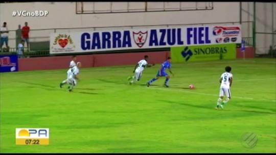 Gol de Júnior Rato, do Águia de Marabá, é eleito o mais bonito do final de semana do Parazão