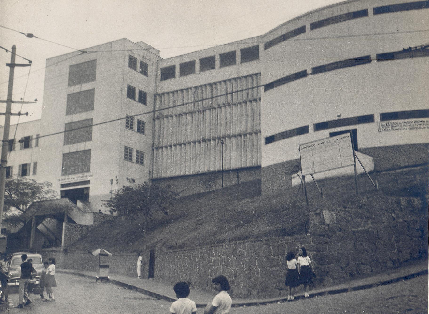 Colégio Estadual Visconde de Cairu, nos anos 1960