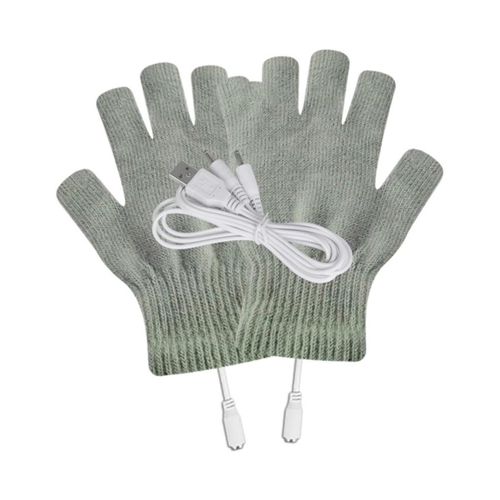 Luva aquece as mãos com chip alimentado por cabo USB de até 1,5 m — Foto: Reprodução/Shoptime