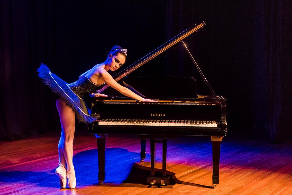 Espetáculo de dança 'A Música' reúne coreografias inspiradas nos instrumentos musicais, em Mogi