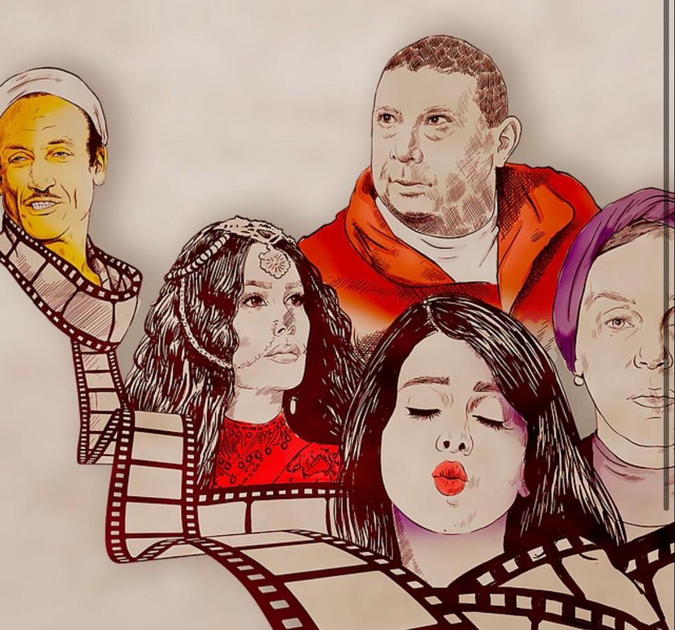 2ª Mostra do Cinema Egípcio Contemporâneo vai de 29 de julho até 23 de agosto, pela internet — Foto: Divulgação/ Mostra Cinema Egípcio Contemporâneo