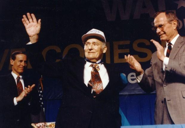 Sam Walton, fundador da rede de supermercados Walmart (Foto: Divulgação/Sam Walton)