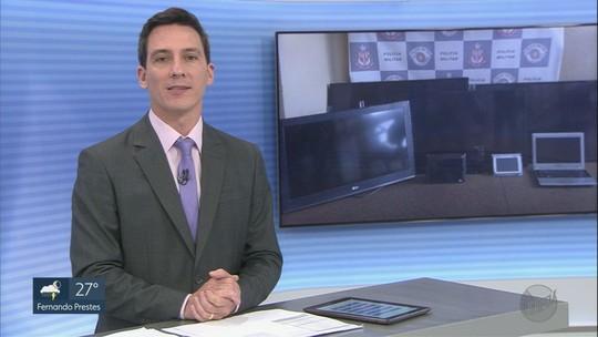 PM recupera equipamentos eletrônicos furtados da Apae em Pitangueiras, SP