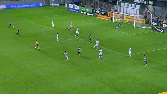 Jogadores do Santos falam sobre ausência de Sampaoli e analisam empate contra o Atlético-MG