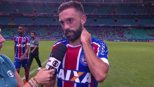 Allione Comemora gol marcado, mas lamenta empate com o Botafogo