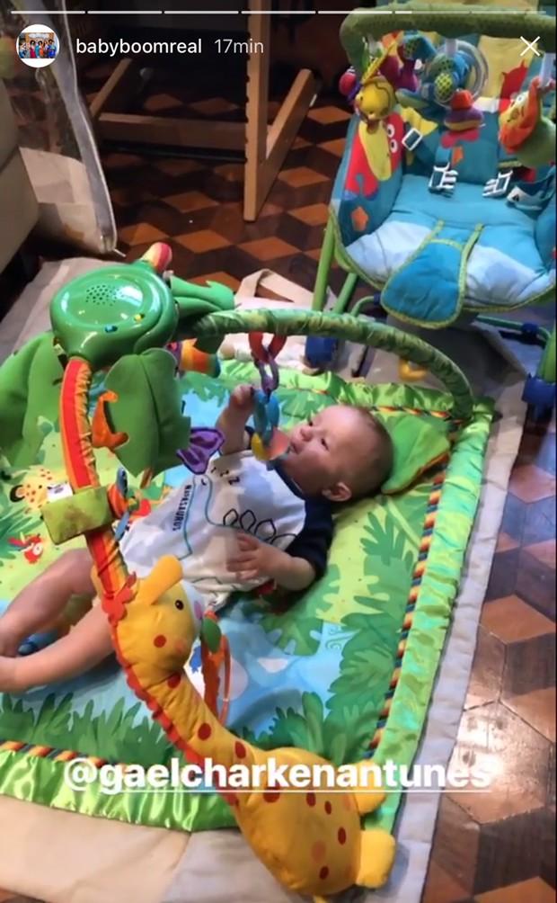Gael, filho de Maíra Charken (Foto: Reprodução/Instagram)