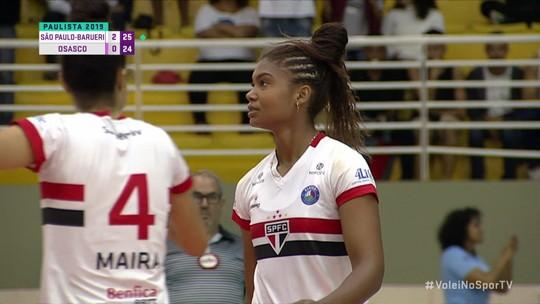Lorenne faz partida impressionante com pontos decisivos para o São Paulo Barueri