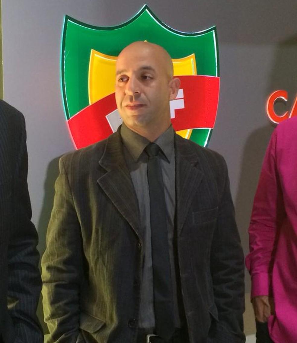 Barreto brincou com a semelhança de Jean Pierre Lima com Vin Diesel (Foto: Eduardo Moura)