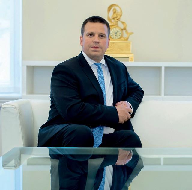 Jüri Ratas, primeiro ministro da Estônia (Foto:  Peter Kollanyi/Bloomberg)