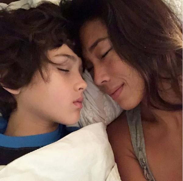 Danni Suzuki e o filho, Kauai (Foto: Reprodução/ Instagram)