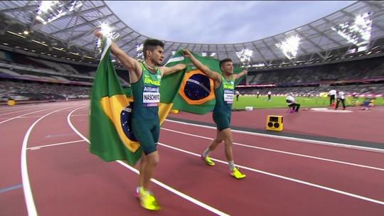 Petrúcio Ferreira é campeão em Londres e bate novo recorde mundial nos 100m