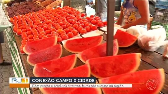 Com preços e produtos atrativos, feiras são sucesso no Sul do Rio