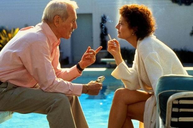 Paul Newman e Susan Sarandon em 'Fugindo do Passado' (Foto: reprodução)
