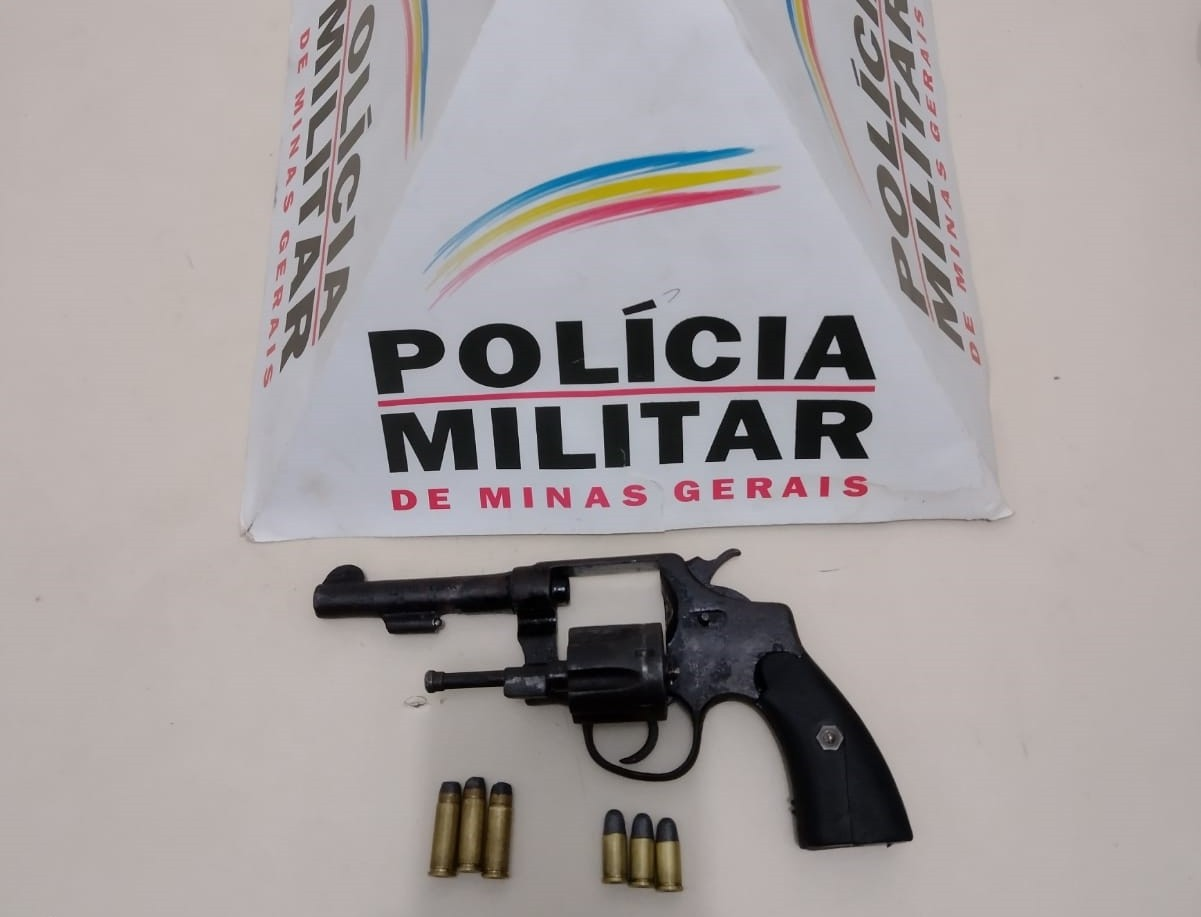 Com ajuda das câmeras do Olho Vivo, policiais apreendem arma dentro de carro em Unaí; três homens foram detidos