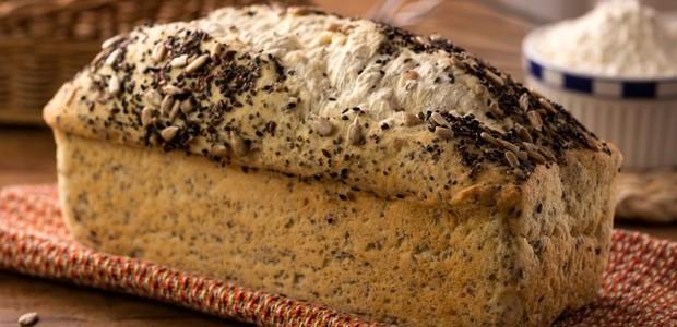 Pão de chia e linhaça com castanha do pará sem glúten, da Schar (Foto: Schaer/Divulgação)