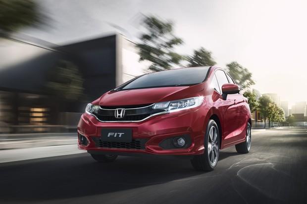 Honda Fit 2019 (Foto: Divulgação)