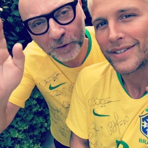 Domenico Dolce e Gui Siqueira (Foto: Reprodução/Instagram)