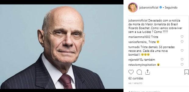 Juliana Baroni (Foto: Reprodução)