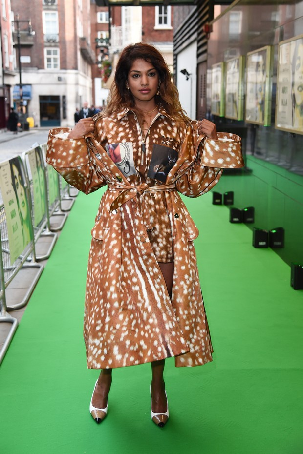 LONDON, ENGLAND - SEPTEMBER 19:  Maya Arulpragasam attends the UK Premeire of 'MATANGI / MAYA / M.I.A' at The Curzon Mayfair on September 19, 2018 in London, England.  (Photo by Eamonn M. McCormack/Getty Images) (Foto: Getty Images)