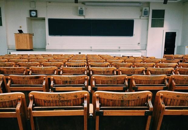 sala de aula, educação, faculdade (Foto: Pexels)