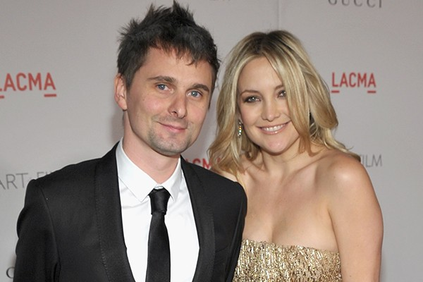 Matthew Bellamy e Kate Hudson (Foto: Getty Images)