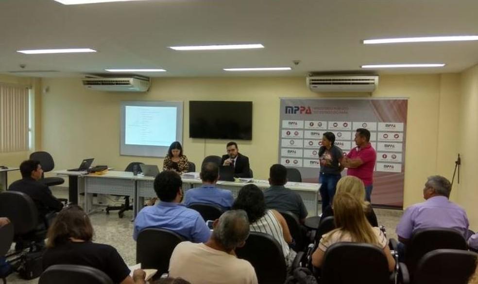 forumagraria - Prefeituras da região recebem orientação no MPPA sobre regularização fundiária