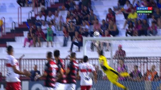 """Diogo fala sobre ambiente e diz que CRB ganhou fôlego após o jogo contra o Goiás: """"Alívio"""""""